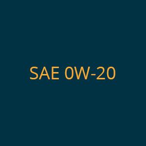 SAE 0W-20
