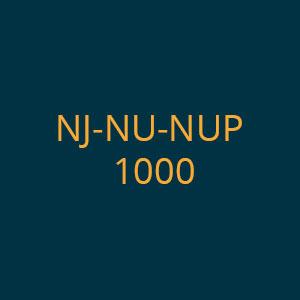 NJ-NU-NUP 1000