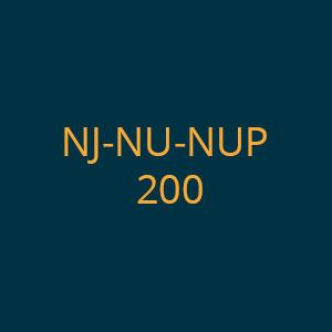 NJ-NU-NUP 200